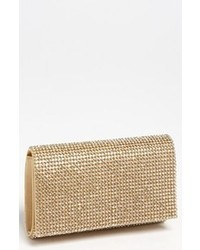 goldene Paillette Clutch