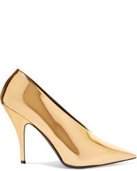 goldene Pumps von Stella McCartney
