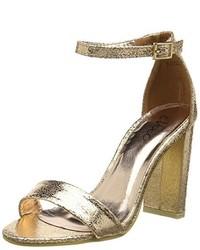 goldene Sandalen von Boohoo