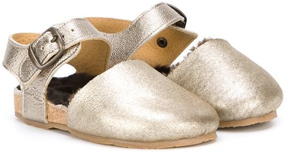 goldene Sandalen von Pépé