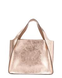 goldene Shopper Tasche aus Leder von Stella McCartney