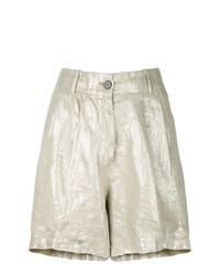 goldene Shorts von Forte Forte