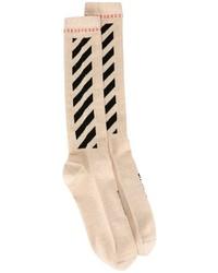 goldene Socken von Off-White
