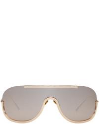 goldene Sonnenbrille von Acne Studios