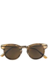 goldene Sonnenbrille von Bottega Veneta