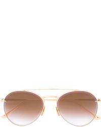 goldene Sonnenbrille von Dita Eyewear