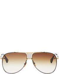 goldene Sonnenbrille von Dita