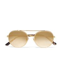 goldene Sonnenbrille von Dolce & Gabbana