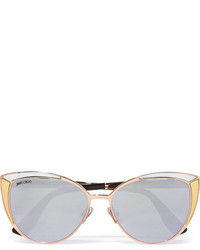 goldene Sonnenbrille von Jimmy Choo