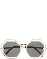 goldene Sonnenbrille von Karen Walker
