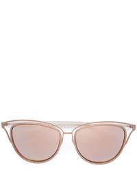 goldene Sonnenbrille von Monique Lhuillier
