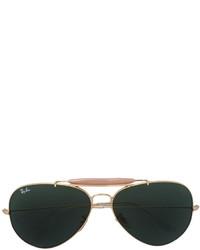 goldene Sonnenbrille von Ray-Ban