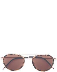 goldene Sonnenbrille von Thom Browne