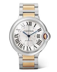 goldene Uhr von Cartier