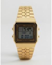 goldene Uhr von CASIO