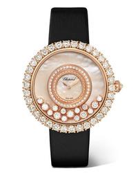 goldene Uhr von Chopard