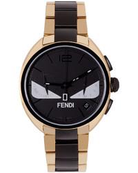 goldene Uhr von Fendi