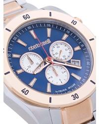 goldene Uhr von Roberto Cavalli