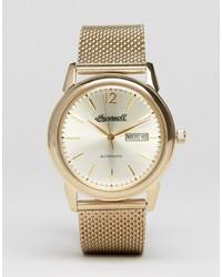 goldene Uhr von Ingersoll