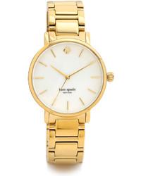 goldene Uhr von Kate Spade