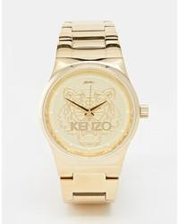 goldene Uhr von Kenzo