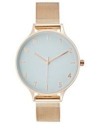 goldene Uhr von KIOMI