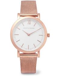 goldene Uhr von Larsson & Jennings