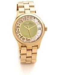 goldene Uhr von Marc by Marc Jacobs