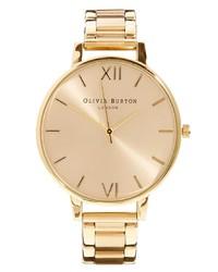 goldene Uhr von Olivia Burton