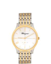 goldene Uhr von Salvatore Ferragamo