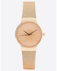 goldene Uhr von Skagen