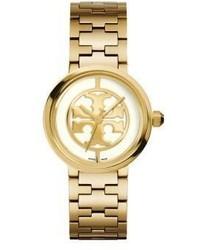 Goldene Uhr von Tory Burch