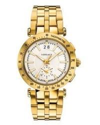 Goldene Uhr von Versace