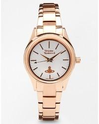 goldene Uhr von Vivienne Westwood