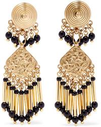 goldene Perlen Ohrringe von Etro