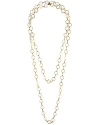 goldene verzierte Halskette
