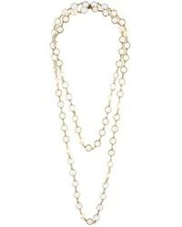 goldene verzierte Halskette von Chanel