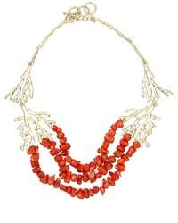 goldene verzierte Halskette von Francesca Romana Diana