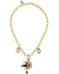 goldener Anhänger von Dolce & Gabbana