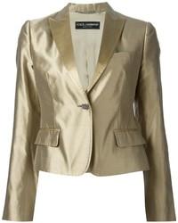 goldener Anzug von Dolce & Gabbana