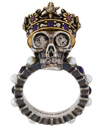 goldener Ring von Alexander McQueen