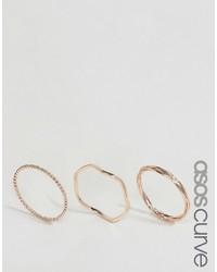 goldener Ring von Asos