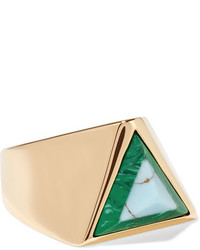 goldener Ring von Fendi
