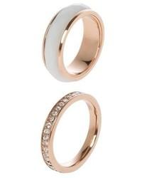 goldener Ring von Fossil