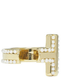goldener Ring von Givenchy