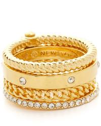 goldener Ring von Kate Spade