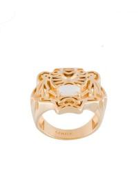 goldener Ring von Kenzo
