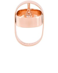 goldener Ring von Maison Margiela