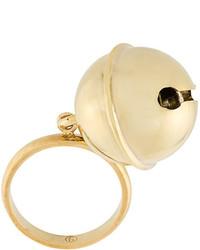 goldener Ring von MM6 MAISON MARGIELA