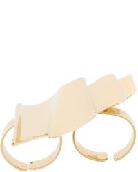 goldener Ring von Saint Laurent